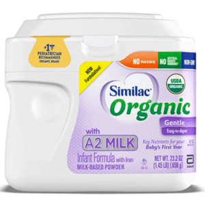 Similac organic A2 milk.