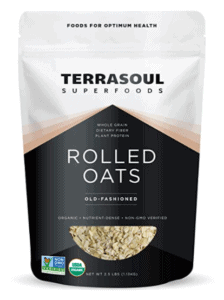 Bag of Terrasoul oats.