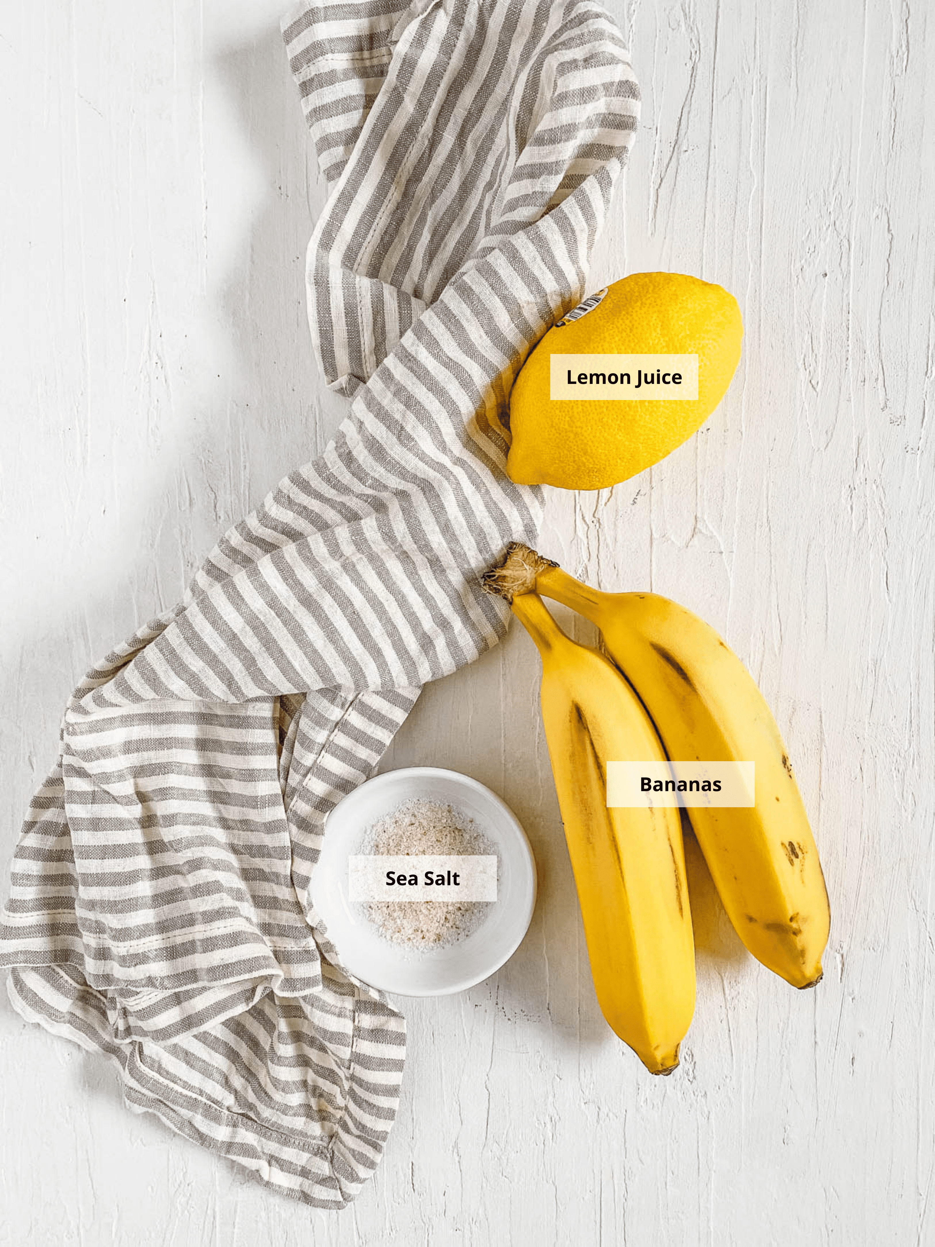 ingredients for air fryer banana chips